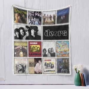 The Doors Quilt Blanket