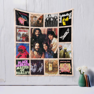 Black Sabbath Quilt Blanket