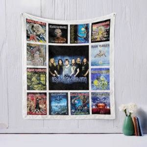 Iron Maiden Quilt Blanket