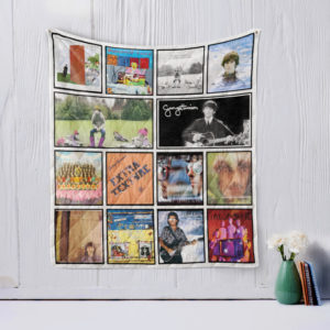 George Harrison Quilt Blanket