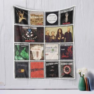 System of a Down Quilt Blanket