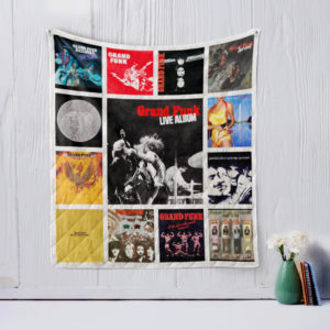 Grand Funk Railroad Two Quilt Blanket