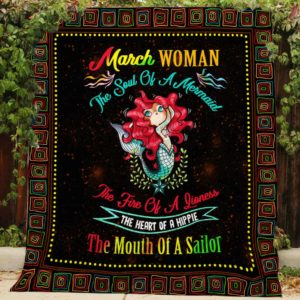 March Woman Quilt