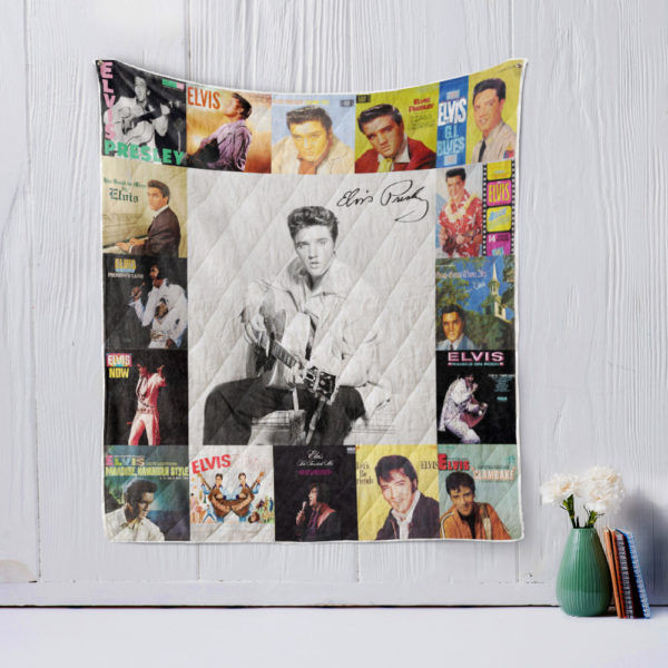 Elvis Presley Two Quilt Blanket
