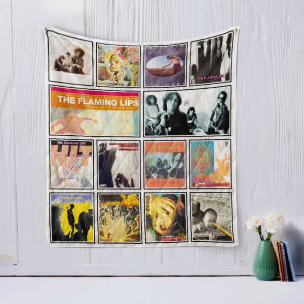 The Flaming Lips Quilt Blanket