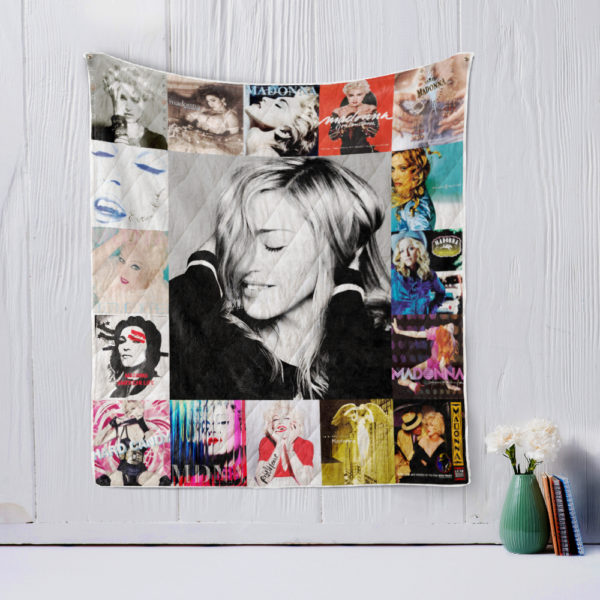 Madonna style Two Quilt Blanket