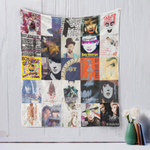 Boy George Quilt Blanket