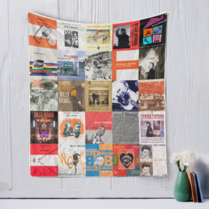 Billy Bragg Quilt Blanket