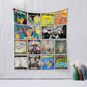 Less Than Jake Quilt Blanket