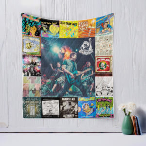 Less Than Jake Style Two Quilt Blanket
