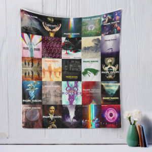 Imagine Dragons Style Three Quilt Blanket