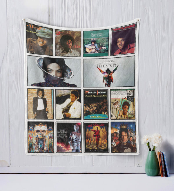 Michael Jackson Style Two Quilt Blanket