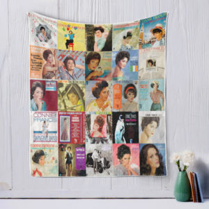 Connie Francis-style-two Quilt Blanket