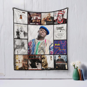 The Notorious B.I.G Quilt Blanket