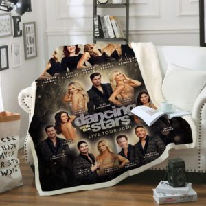 Dancing With The Stars Live Tour 2020 Fleece Blanket